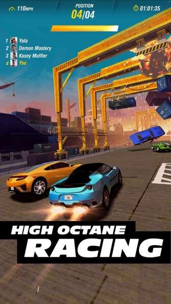 دانلود Fast & Furious Takedown 1.8.01 بازی ماشین سواری سریع و خشن نابودگر اندروید + مود + دیتا