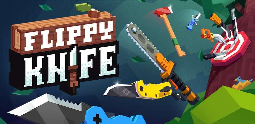 دانلود Flippy Knife 1.9.1.3 بازی اکشن پرتاپ چاقو اندروید + مود