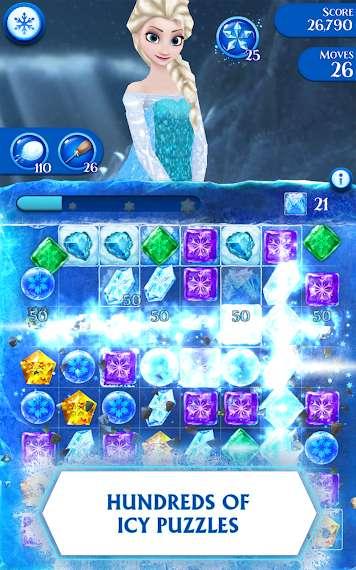 دانلود Frozen Free Fall 9.3.0 بازی سقوط آزاد یخ زده اندروید + مود + دیتا