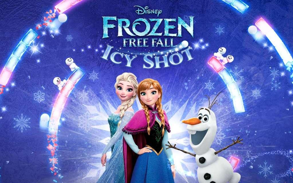 دانلود Frozen Free Fall 8.3.0 بازی سقوط آزاد یخ زده اندروید + مود + دیتا