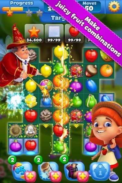 دانلود Fruit Land 1.374.0 بازی پازلی سرزمین میوه ها اندروید + مود