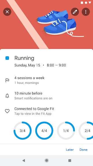 دانلود Google Calendar 2021.37.0-396230951 تقویم گوگل یا پشتیبانی از تاریخ شمسی