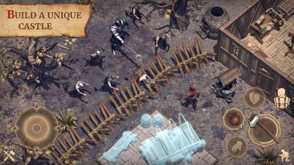 دانلود Grim Soul Dark Fantasy Survival 3.2.0 بازی فوق العاده روح گریم بقا در تاریکی اندروید + مود