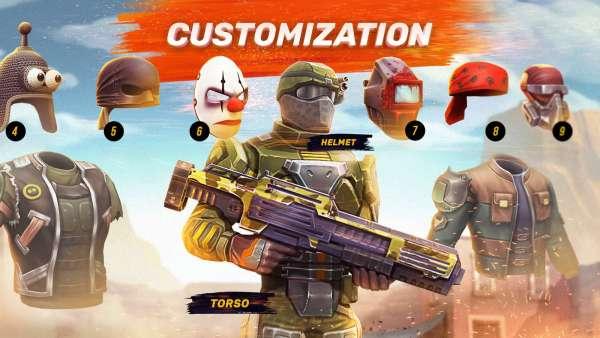 دانلود Guns of Boom 19.2.163 بازی اندروید اکشن اسلحه بوم + مود
