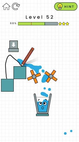 دانلود Happy Glass 1.0.55 بازی فکری لیوان خندان اندروید + مود