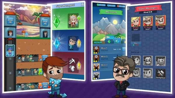 دانلود Idle Miner Tycoon 3.20.0 بازی سرمایه دار معدن + مود +تریلر