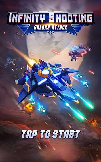 دانلود Infinity Shooting: Galaxy War 2.2.3 نبرد در کهکشان اندروید