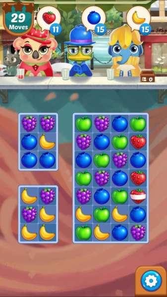 دانلود Juice Jam 2.33.5 بازی زیبای پازلی میوه های مشابه اندروید + مود