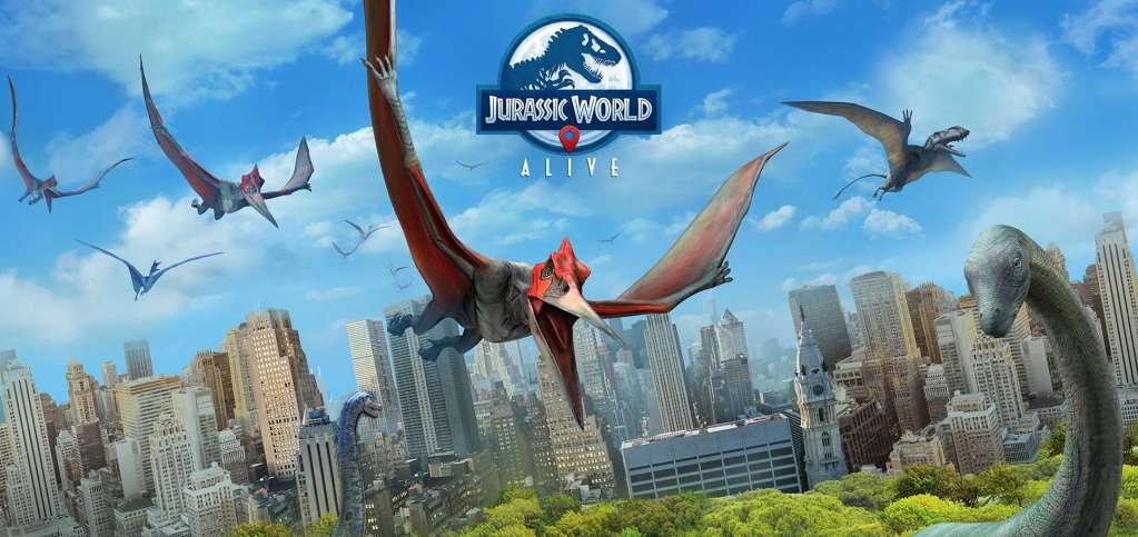 دانلود Jurassic World Alive 1.10.16 بازی شبیه سازی جهان دایناسورهای زنده اندروید