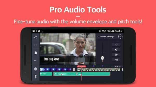 دانلود KineMaster – Pro Video Editor 4.15.9.17782 برنامه ویرایش ویدیو در اندروید