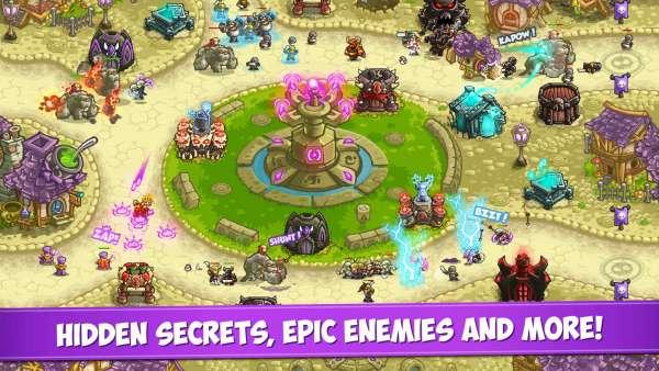 دانلود Kingdom Rush: Vengeance 1.9.1 بازی برج دفاعی پادشاهی راش اندروید  مود + دیتا