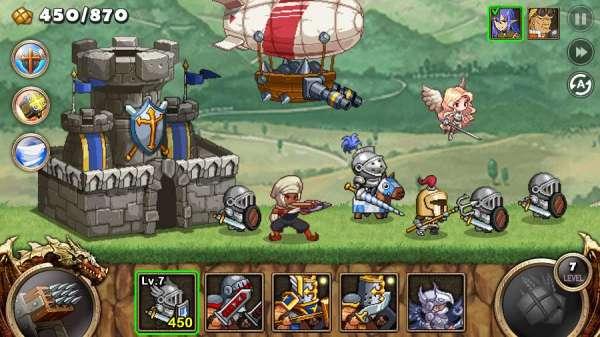 دانلود Kingdom Wars 1.6.6.1 بازی جنگ های پادشاهی اندروید + مود