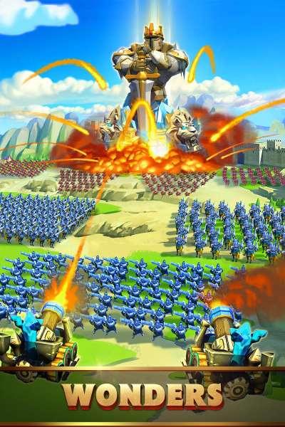 دانلود Lords Mobile 2.28 بازی استراتژی اندروید پادشاهان موبایل + مود + دیتا