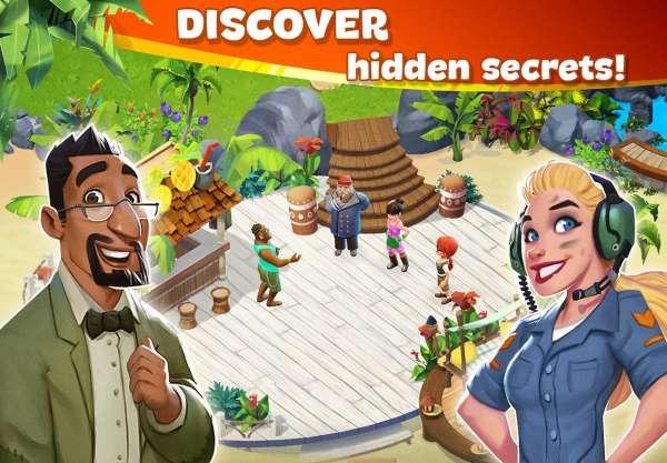 دانلود Lost Island: Blast Adventure 1.1.980 بازی پازلی جزیره گمشده اندروید + مود