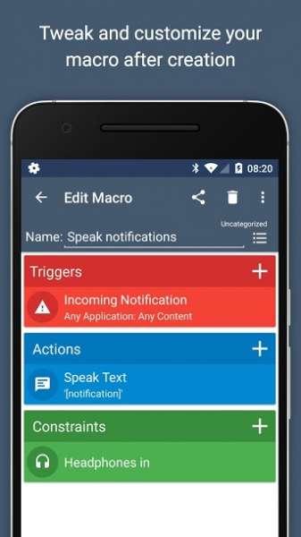 دانلود MacroDroid Pro 5.6.3 برنامه انجام  اتوماتیک کارها