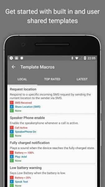 دانلود MacroDroid Pro 5.16.2 برنامه انجام  اتوماتیک کارها