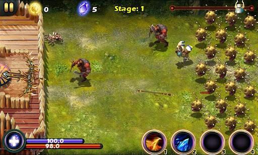 دانلود Magic Siege Defender 1.8.42 بازی برج دفاعی جادویی اندروید + تریلر + مود