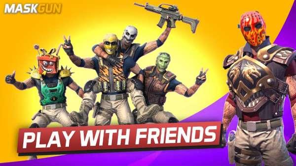 دانلود Maskgun: Multiplayer FPS 2.460 بازی اندروید تفنگداران نقاب دار و چند نفره + مود