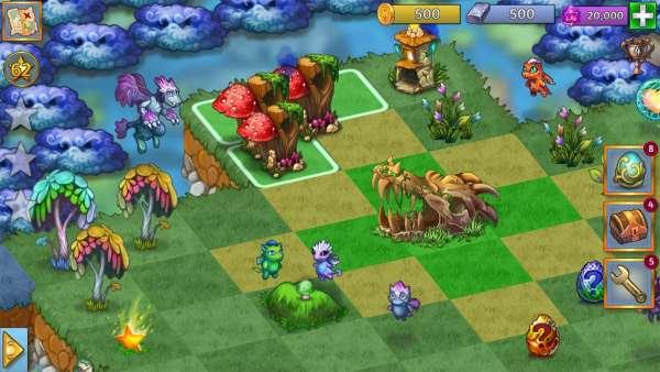 دانلود Merge Dragons 7.1.0 بازی پازلی ترکیب کردن اژدها اندروید + مود