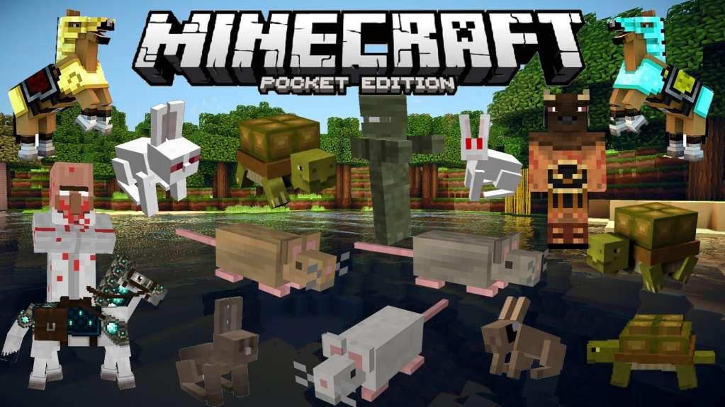 دانلود Minecraft Pocket Edition 1.14.0.2 بازی ماینکرافت اندروید + مود
