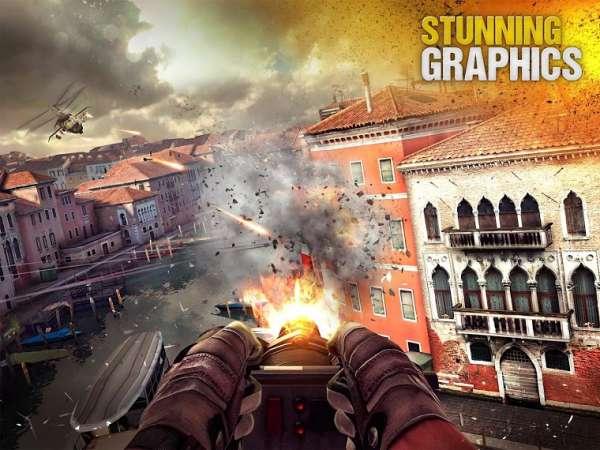 دانلود Modern Combat 5 eSports FPS 5.8.6b بازی مبارزات مدرن 5 اندروید + مود