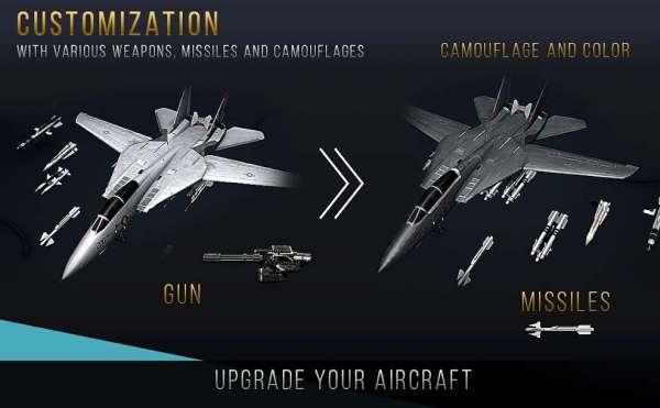 دانلود Modern Warplanes 1.19.0b303236 بازی هواپیماهای جنگی مدرن اندروید + مود