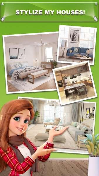 دانلود My Home – Design Dreams 1.0.409 بازی پازلی طراحی رویایی خانه من اندروید + مود