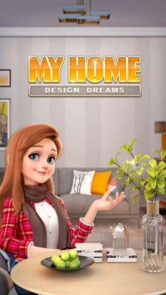دانلود My Home – Design Dreams 1.0.316 بازی پازلی طراحی رویایی خانه من اندروید + مود