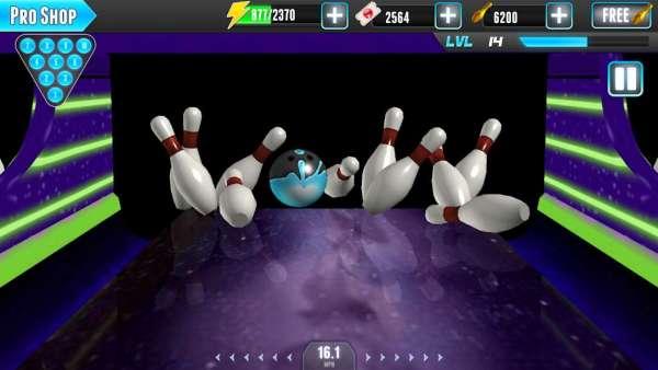 دانلود PBA® Bowling ChallengeBowling Challenge 3.8.39 بازی مسابقات هیجان انگیز بولینگ اندروید + مود