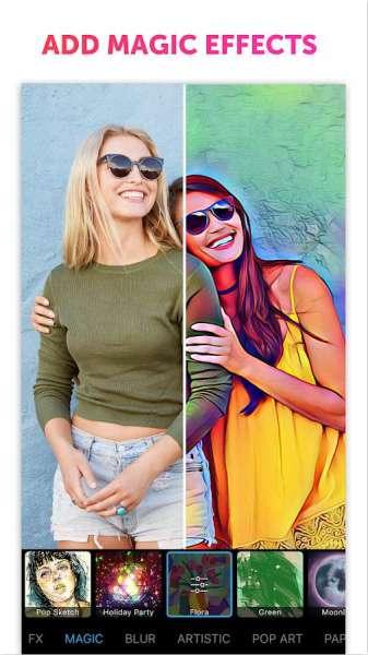 دانلود PicsArt Photo Studio & Collage 18.1.1 استودیو قدرتمند عکس  + پک فونت فارسی + مود