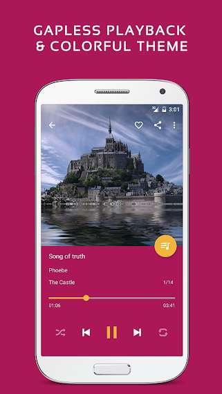 دانلود Pulsar Music Player Pro 1.9.4+169 موزیک پلیر پرقدرت اندروید