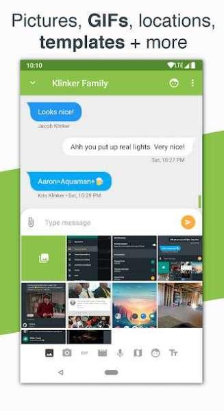 دانلود Pulse SMS 5.4.11.2831 اپلیکیشن مدیریت پیام کوتاه اندروید