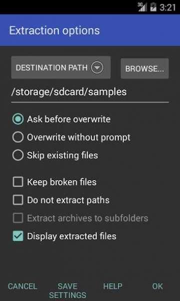 دانلود RAR for Android 6.10+100 اپلیکیشن فشرده ساز اندروید + پرمیوم + مود