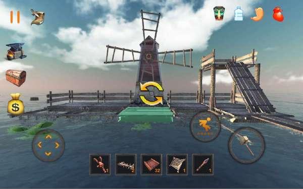 دانلود Raft Survival : Ultimate 9.9.9 بازی قایق بقاء اندروید + مود