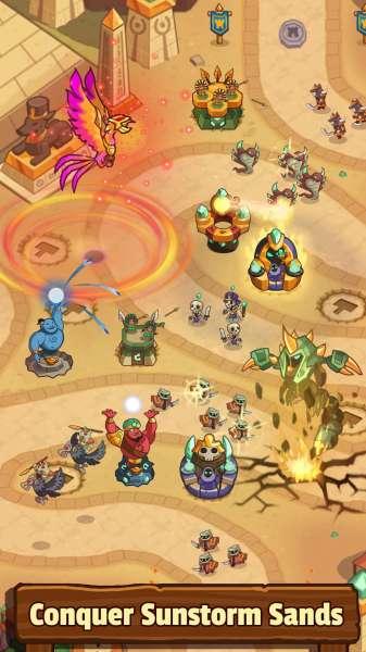 دانلود Realm Defense: Hero Legends TD 2.7.1 بازی دفاع از قلمرو اندروید + مود