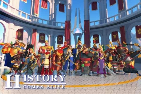 دانلود Rise of Civilizations 1.0.50.18 بازی ظهور تمدن های اندروید + دیتا