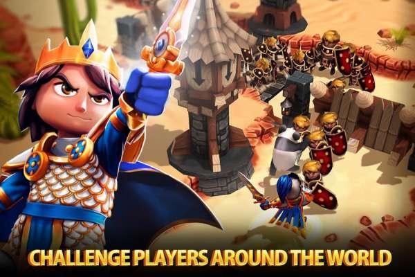 دانلود Royal Revolt 2 7.1.2 بازی اندروید شورش سلطنتی