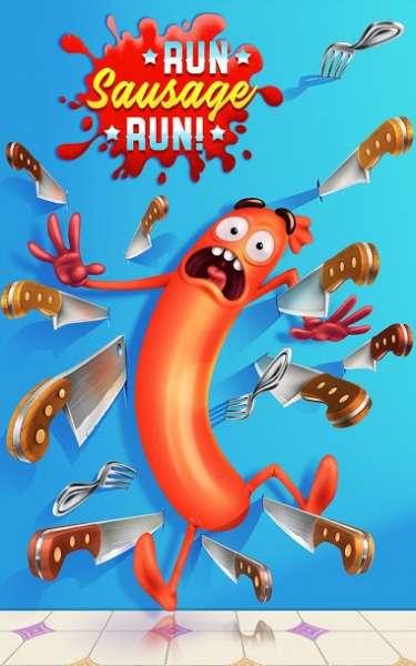 دانلود Run SausageRun Sausage 1.22.8 بازی جذاب بدو سوسیس بدو مخصوص اندروید + مود