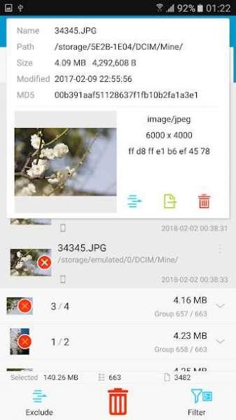 دانلود Search Duplicate File Pro 4.170 برنامه حذف فایل های تکراری اندروید
