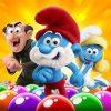 دانلود Smurfs Bubble Story 2.15.010212 بازی زیبا های داستان اسمورف های اندروید + مود
