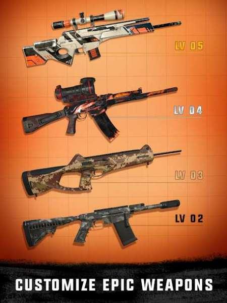 دانلود Sniper 3D Gun Shooter: Free Elite Shooting Games 3.37.9 بازی تک تیرانداز اندروید + مود