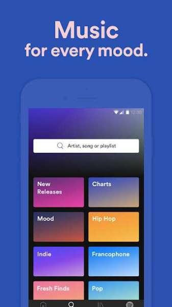 دانلود Spotify Music 8.6.64.1081 برنامه محبوب اسپاتیفای اندروید + مود + بتا