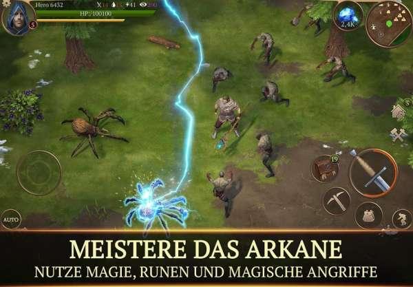 دانلود Stormfall: Saga of Survival 1.14.7 بازی طوفان: داستان بقاء اندروید
