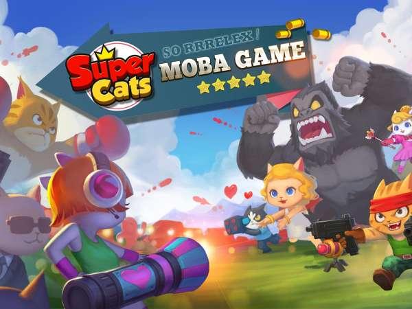 دانلود Super Cats 1.0.86 بازی اکشن گربه های بی نظیر اندروید + مود