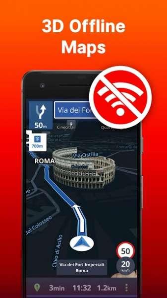 دانلود Sygic : GPS Navigation 18.7.4 دانلود بهترین مسیریاب آفلاین اندروید + سخنگوی فارسی