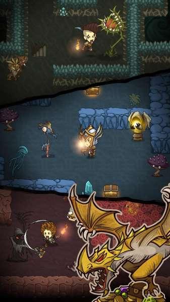 دانلود The Greedy Cave 3.1.3 بازی غار حریص اندروید + مود
