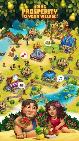 دانلود The Tribez 12.10.0 بازی قبیله ها ساخت یک روستا اندروید + مود