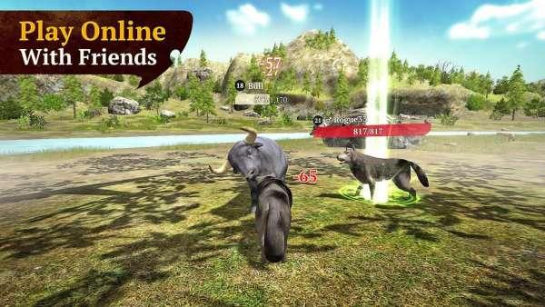 دانلود The Wolf 2.3.1 بازی فوق العاده و نقش آفرینی گرگ اندروید + مود