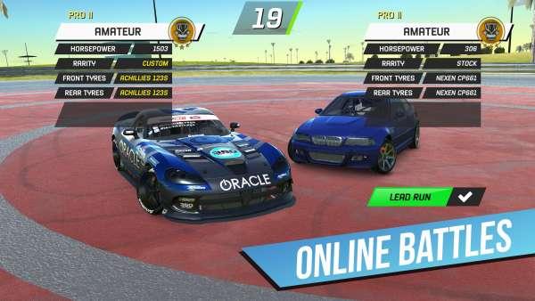 دانلود Torque Drift 1.6.0 بازی ماشین سواری دریفت حرفه ای اندروید + دیتا