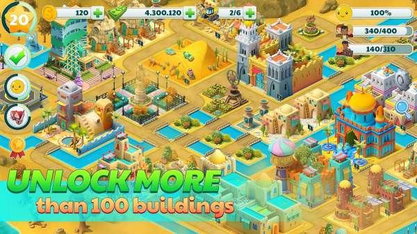 دانلود Town City – Village Building Sim Paradise Game 2.3.1 بازی شهرسازی و ساخت ساز فوق العاده اندروید + مود